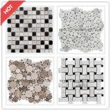 Pulido de mármol del mosaico de pared y suelo de baldosas