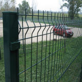 Folds (XMM-WM)를 가진 PVC Coated Welded Wire Mesh Fence