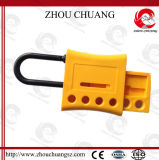 Hasp en nylon Zc-K51 de verrouillage de traitement en acier