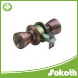고급 Sokoth 상표 알루미늄 합금 손잡이 자물쇠, 원통 모양 손잡이 자물쇠, 둥근 손잡이 원통 모양 자물쇠