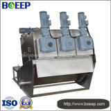Equipo del deshidratador del tornillo en tratamiento de aguas residuales de la impresión y del teñido