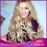 Cheveux humains d'onde de corps de cheveux humains de 100%