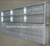 Scaffolding를 위한 안전한 Durable Metal Plank