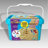 Deluxe Wanne - kreativer Set-Sand-Bewegungs-Sand-Spiel-Sand DIY scherzt Spielzeug-pädagogische Spielwaren