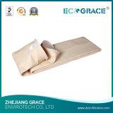 Filtro de saco resistente de Nomex da abrasão excelente para a eliminação do gás