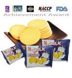 Milk fort Flavor Biscuit avec FDA /HACCP/ISO Certificate