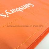 Sac stratifié tissé par pp de coutume, sac d'emballage, sac à provisions réutilisable