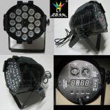 18X12W RGBW 실내 동위 LED DJ 사건 장비 단계 점화
