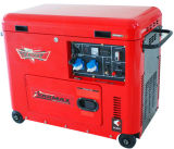 6kVA Air Cooled Silent Type Diesel Generator