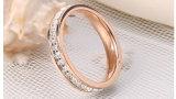 고품질 다이아몬드 스테인리스 보석 반지 형식 반지 (hdx1029)