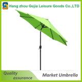 크랭크를 가진 옥외 가구 야채 재배 농원 안뜰 우산