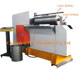 De Rolling Machine van de Productie van de Trommel van de koolstof of van het Roestvrij staal met Twee Rollen