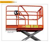 Eléctricos llenos Scissor la plataforma de trabajo aéreo de la elevación