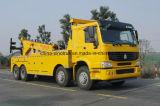 Hochwertiger HOWO Straßen-Rettungs-Schleppseil-LKW mit Schleppseil-Kran