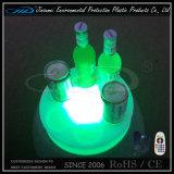 Porte-bouteille de bière promotionnelle avec éclairage LED