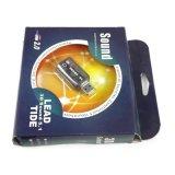 2 포트 USB 외부 5.1 채널 3D 사실상 오디오 음성 카드 검정