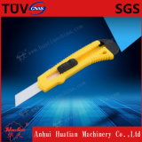 18mm instantané outre du couteau avec le blocage en métal et la lame de coupure de précision