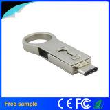 Tipo-c de encargo USB3.1 OTG Pendrive 16GB de la buena calidad de la insignia 2016