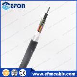 Cable de fibra óptica acorazado de aluminio de la base del conducto 24/36/72/96 (GYTA)