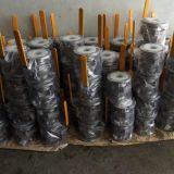 Válvula de bola flotante CF8M 150 libras 2PC con la norma ISO 5211 almohadilla de montaje