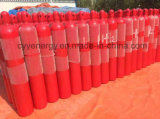 Used médico Oxygen Nitrogen Lar CNG Acetylene CO2 Hydrogeen Nitrogen Lar CNG Acetylene Hydrogen 150bar/200bar High Pressure Gas Cylinder