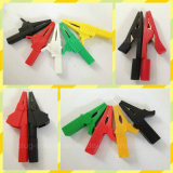 20A Copper Clip PVC Boot Battery Clip / Alligator Clip Rj-Y1074)