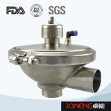 Valvola dell'acciaio inossidabile di controllo fluido del commestibile (JN1005)