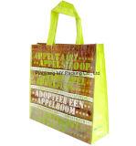 Eco 친절한 다채로운 인쇄 PP에 의하여 박판으로 만들어지는 비 길쌈된 선물 부대