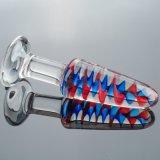 女性Injo-Dg130のための性のおもちゃのガラスDildo