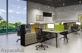 Tabella moderna della stazione di lavoro dell'ufficio del sistema dello scrittorio dello spazio all'aperto con il divisorio dello schermo (HF-JND04)
