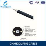 Câble de fibre optique extérieur de l'approvisionnement GYFTY d'usine avec le porteur central non métallique