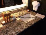 Encimeras del granito de Santa Cecilia de la alta calidad y tapas ligeras de la vanidad