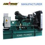 선택 ATS를 가진 Wandi Power의 300kw/375kVA 침묵하는 유형 디젤 엔진 발전기