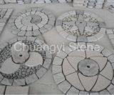 G654/G682/G684/G603 포장 기계를 위한 중국 화강암 조약돌 또는 조경 돌 또는 정원 돌 또는 옥외 훈장