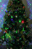 Luces de la Navidad al aire libre del laser de la ducha de la estrella, proyector de la estrella