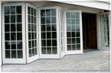 Portelli di piegatura di alluminio esterni con impermeabile ed insonorizzato