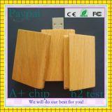 De houten Stok van de Vorm USB van de Kaart (gc-W009)