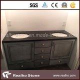 Granito nero di Mogolia del granito nero assoluto della Cina per le parti superiori della cucina