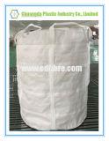 Weißer grosser Beutel-Unterseiten-Aufzug-runde Massenbeutel mit verstärken Riemen