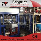 Máquina automática de plastificação de copos de inclinação de plástico