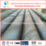 BS 1139 para Fluid Bajo-Pressure Transport Service Spiral Steel Pipe