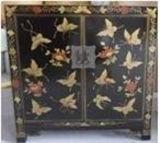 Китайский шкаф бабочки античной мебели