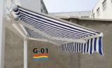 Tente de faible puissance avec le tissu de système manuel et de polyester (S-01)