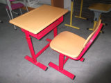 Bureau d'élève d'école de mobilier scolaire et présidence joints (SF-02S)
