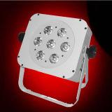luz sem fio da PARIDADE de 15W Rgabw para a decoração do disco do banquete de casamento