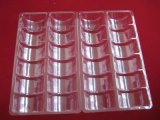 Поднос еды прозрачный упаковывая