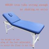 Mesa de massagem estacionária de aço Tubo Beleza