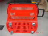 Panier au détail, équipement de supermarché, panier à provisions, panier en plastique (JT-G24)