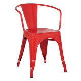 Outdoor/거실 Cafe를 위한 Judor Modern Powder Coating Metal Chair