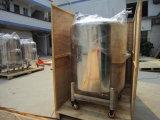 El tanque sanitario del recipiente del reactor de punto bajo del acero inoxidable